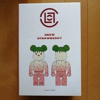 MEDICOM TOY - CLOT BE@RBRICK Strawberry 100%  400% 苺