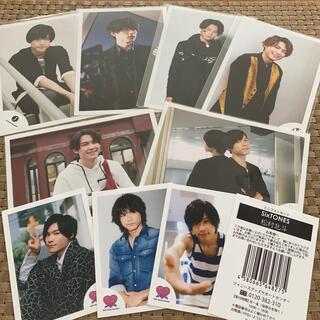 Johnny's - SixTONES 松村北斗 🖤 公式写真 ジャニ写 ミニフォトセット(3枚)