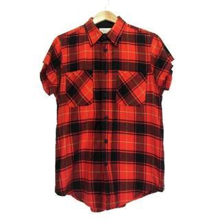 フィアオブゴッド(FEAR OF GOD)のフィアオブゴッド■Third collectionサイドジップチェックシャツ(シャツ)