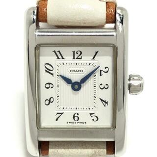 コーチ(COACH)のCOACH(コーチ) 腕時計 - W002B レディース(腕時計)