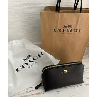 COACH - コーチ COACH ポーチ 【新品未使用、袋付き】