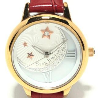 スタージュエリー(STAR JEWELRY)のスタージュエリー 腕時計 - レディース(腕時計)