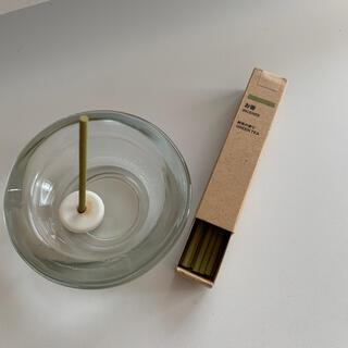 ムジルシリョウヒン(MUJI (無印良品))のお香セット(お香/香炉)