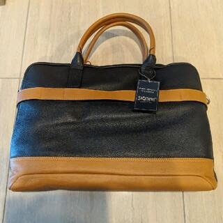 ビームス(BEAMS)の【新品】sicons 革 鞄 ビジネスバッグ イタリア ITALY ネイビー(ビジネスバッグ)