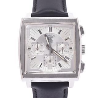 タグホイヤー(TAG Heuer)のタグホイヤー  モナコ クロノグラフ 新品ベルト 腕時計(腕時計(アナログ))
