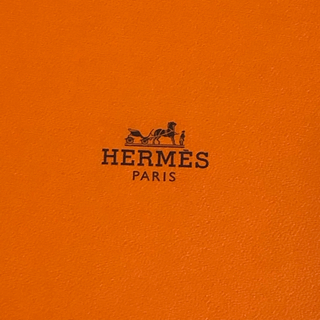 エルメス(Hermes)のレア! エルメス ティータイム ツイリー 2本組 ハート 黒(バンダナ/スカーフ)