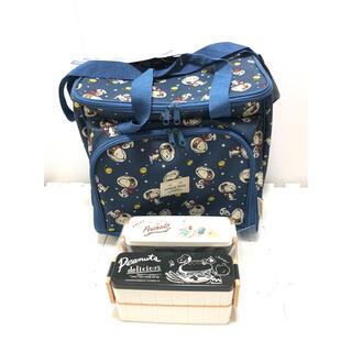 スヌーピー(SNOOPY)のLOGOSスヌーピー ピクニックセット&お弁当箱(容器)
