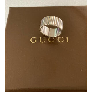 Gucci - GUCCI  シルバーリング  12~13号  お値下げ