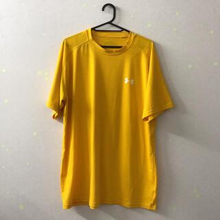 UNDER ARMOUR - アンダーアーマー メンズ Tシャツ 黄色