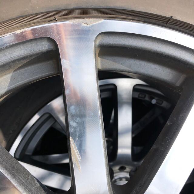 ホンダ(ホンダ)のホンダ 無限ホイール 18インチ 自動車/バイクの自動車(ホイール)の商品写真