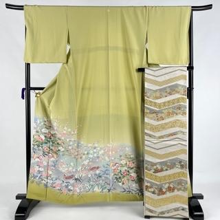 色留袖 美品 秀品 身丈163cm 裄丈67.5cm 正絹 【中古】(着物)