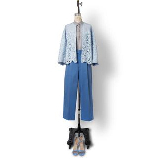 ドゥロワー(Drawer)のDrawer 2019 ブルー パンツ 水色(カジュアルパンツ)