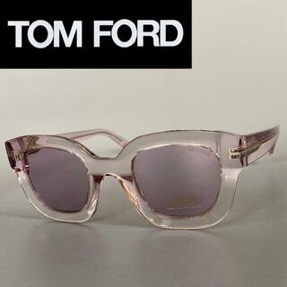 TOM FORD - サングラス トムフォード ピンク クリスタル パープル キャットアイ フルリム