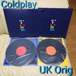COLDPLAY 『X&Y』希少 オリジナル盤 レコード 2LP コールドプレイ