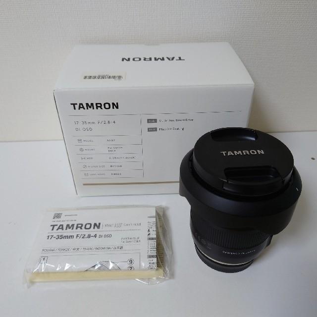 TAMRON(タムロン)のタムロン TAMRON 17-35mm F2.8-4Di OSD キヤノン用 スマホ/家電/カメラのカメラ(レンズ(ズーム))の商品写真