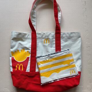 マクドナルド(マクドナルド)の新品 マクドナルド 福袋 トートバッグ&ポーチ(ノベルティグッズ)