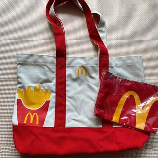 マクドナルド(マクドナルド)の新品未使用 マクドナルド 福袋 トートバッグ&ポーチ(ノベルティグッズ)