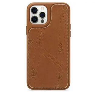 エルメス(Hermes)のiPhone12/12proケース レザー HERMES iPhoneケース(iPhoneケース)