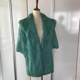 アクアガール(aquagirl)のイタリア製 リアルラビットファージャケット・ケープ(毛皮/ファーコート)