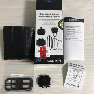 ガーミン(GARMIN)のGARMIN スピードセンサー・ケイデンスセンサーセット(パーツ)