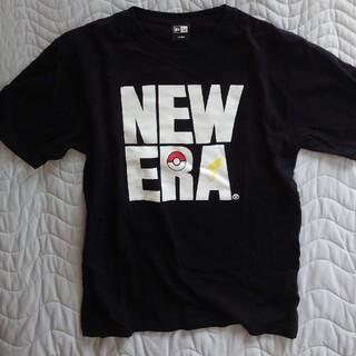 ニューエラー(NEW ERA)のニューエラ ポケモン コラボ Tシャツ SQUARE LOGO NEW ERA (Tシャツ/カットソー(半袖/袖なし))