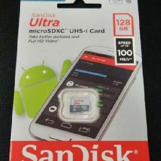 サンディスク(SanDisk)の ☆ 新品 ☆ SanDisk micro SD 128G(その他)