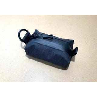 X-pac ブラック 小型ポーチ(登山用品)