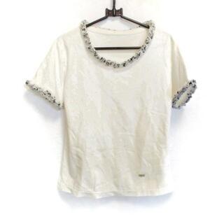 ルネ(René)のルネ 半袖カットソー サイズ36 S - ラメ(カットソー(半袖/袖なし))