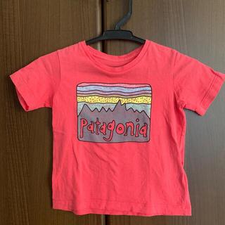 パタゴニア(patagonia)のパタゴニア  12-18m Tシャツ ピンク(Tシャツ)