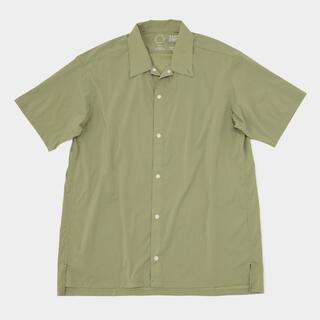 山と道 UL Short Sleeve Shirt light Olive