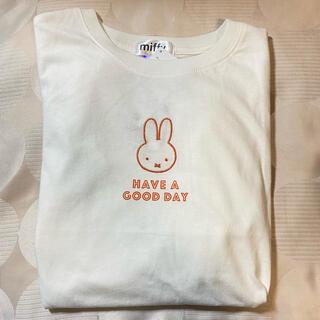 しまむら - しまむら ミッフィー センターロゴTシャツ L