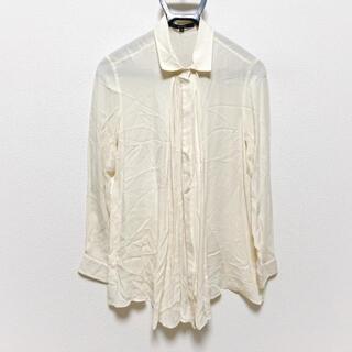 グッチ(Gucci)のグッチ 長袖シャツブラウス サイズ40 M -(シャツ/ブラウス(長袖/七分))