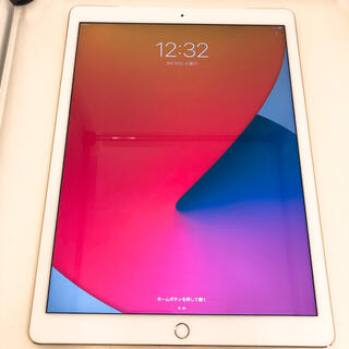 アイパッド(iPad)のiPad pro 128GB 12.9インチ セルラーモデル SIMフリー(タブレット)