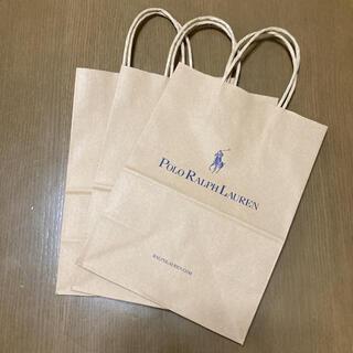 ラルフローレン(Ralph Lauren)のラルフローレン ショップ袋 ショッパー 紙袋 手提げ 袋 3枚(ショップ袋)
