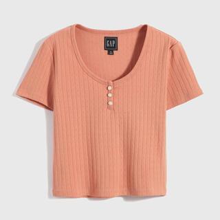 ギャップ(GAP)のシック コットン スクープネックTシャツ GAP(Tシャツ(半袖/袖なし))
