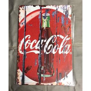コカ・コーラ - ☆ Coca-Cola コカコーラ ③ ☆ ブリキ看板 ★アメリカン雑貨  ■