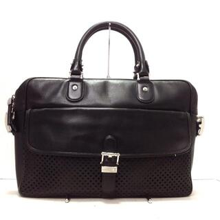 モンブラン(MONTBLANC)のモンブラン ビジネスバッグ - 黒 レザー(ビジネスバッグ)