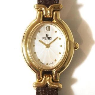 フェンディ(FENDI)のフェンディ 腕時計 - 640L レディース(腕時計)