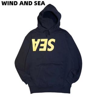 SEA - WIND AND SEA GOD SELECTION XXX限定パーカー