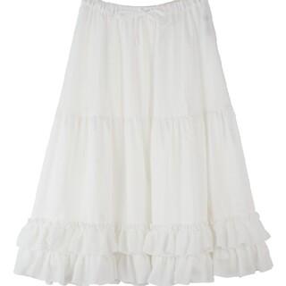 アクシーズファム(axes femme)の新品タグなしaxes femmekawaiiペチスカート♡(ロングスカート)