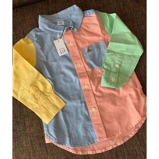 【GAP】新品未使用 シャツ 95cm 2years