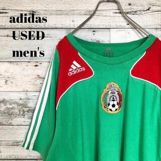 adidas - US輸入 adidas メンズ 半袖Tシャツ メキシコ サッカー ゆるだぼ XL