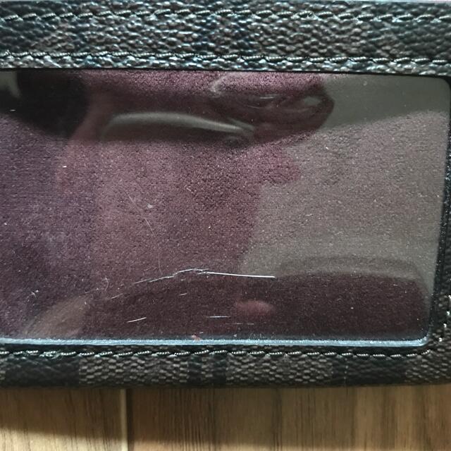 COACH(コーチ)のcoach パスケース レディースのファッション小物(名刺入れ/定期入れ)の商品写真