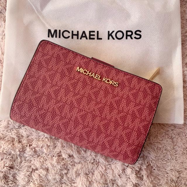 Michael Kors(マイケルコース)のマイケルコースの折財布☆ベリーマルチ 新品・正規品 ビルフォールド❣️ レディースのファッション小物(財布)の商品写真