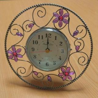 【新品未使用】置き時計