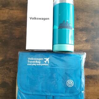 フォルクスワーゲン(Volkswagen)の【非売品】フォルクスワーゲン ノベルティ トラベルポーチ タンブラー(ノベルティグッズ)