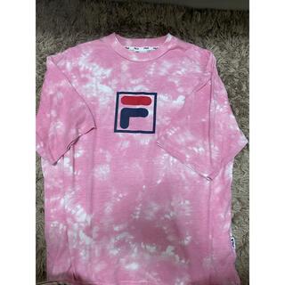 フィラ(FILA)のFILA ピンク Tシャツ(Tシャツ/カットソー(半袖/袖なし))