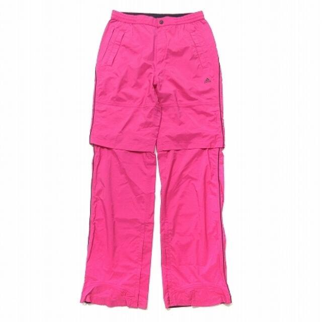 adidas(アディダス)のアディダス adidas GOLF レインウェア 2way NLY6 白 ピンク スポーツ/アウトドアのゴルフ(ウエア)の商品写真