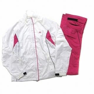 adidas - アディダス adidas GOLF レインウェア 2way NLY6 白 ピンク