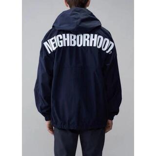 NEIGHBORHOOD - NEIGHBORHOOD ANORAK / N-JKT LOGO blue L